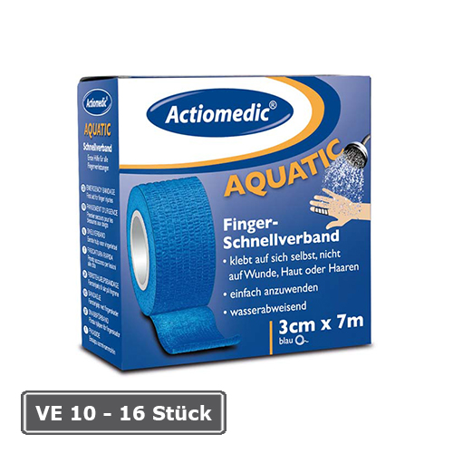 Schnellverband Actiomedic® -Aquatic-, Länge 7 m, selbsthaftend