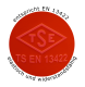 Detailansicht: Absperrpfosten  -Elasto Orange Sign- (Art. 34828) Qualitätsmerkmal EN 13422