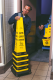 Anwendungsbeispiel: Absperrsystem -Caution- Rubbermaid, stapelbar (Art. 12140)