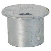Abdeckkappe für Bodenhülse Ø 60 mm