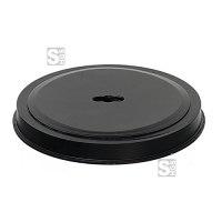 Abdeckkappe für Bodenhülsen Ø 60, 76, 102 mm und 70 x 70 mm, Kunststoff (schwarz)