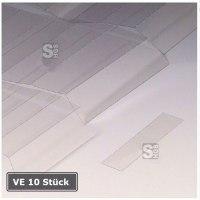 Abdeckungen für Permaflex C-Profile, VE 10 Stück à 1 m, magnetisch
