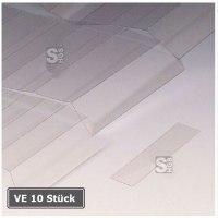 Abdeckungen für Permaflex C-Profile, VE 10 Stück à 1 m