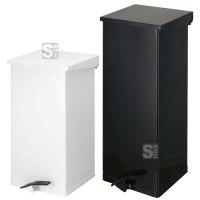 Abfallbehälter -Carro-Kick- 45, 55, 65 oder 110 Liter aus Aluminium, mit Pedal, feuerfest