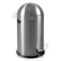Abfallbehälter -Kickcan- EKO, 33 Liter aus Edelstahl, feuerfest