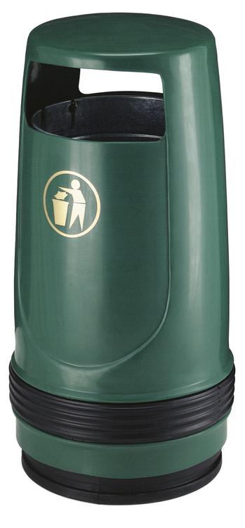 Abfallbehälter -Merlin- 90 Liter aus Kunststoff