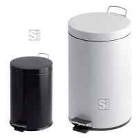 Abfallbehälter -P-Bins 26- 3, 5, 12, 20 oder 30 Liter aus Stahl, mit Pedal