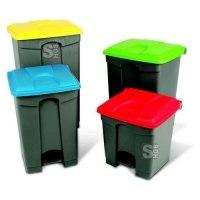 Abfallbehälter -Pro 10- 30-100 Liter aus Polypropylen, mit Pedal