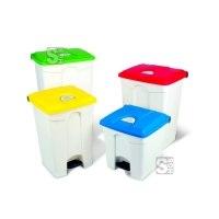 Abfallbehälter -Pro 11- 30-100 Liter aus Polypropylen, mit Pedal