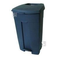 Abfallbehälter -Pro 14- 120 Liter aus Polyethylen, mit Pedal, fahrbar