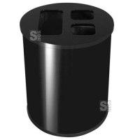 Abfallbehälter -Pro 7- 40 oder 60 Liter aus Stahl