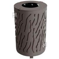 Abfallbehälter -Torrance- 80 Liter aus Stahl