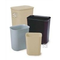 Abfallkörbe -Decline- Rubbermaid 6,6 bis 37,9 Liter aus Glasfaser, feuerfest