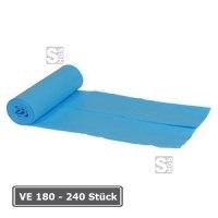 Abfallsäcke aus LDPE, VE 180 - 320 Stück, Volumen 40 bis 120 Liter, geruchslos