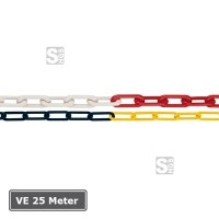 Absperrkette aus Kunststoff, VE 25 Meter, Ø 6 mm oder 8 mm