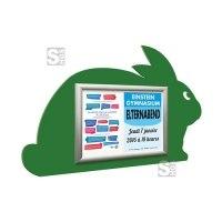 Alu-Klapprahmen -Hase-, Rahmenbreite 50 mm, Außenmaß 850 x 550 mm, DIN A3, grün