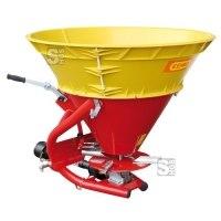 Anbaustreuer -CEMO SA260- aus Stahl mit Kunststoff-Trichteraufsatz, 260 Liter