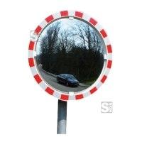 Anti-Beschlag-Spiegel, ohne elektr. Einrichtung, für Ø 76 mm Pfosten