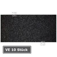 Anti-Rutschmatte aus Recyclingmaterial, VE 10 Stück,200 x 100 mm, Stärke 8 mm, Verpackungseinheit (VE) 10 Stück
