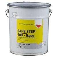 Antirutsch-Bodenbeschichtung -SAFE STEP 500-, 5 Liter, für den Einsatz mit Chemikalien und Flüssigkeiten, grau