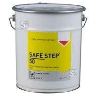 Antirutsch-Bodenbeschichtung -SAFE STEP 50-, 5 Liter, für den Einsatz auf großen Flächen, grau
