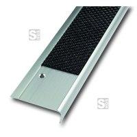Antirutsch-Treppenkantenprofil aus Aluminium, einreihig