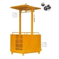 Arbeitskorb -A1071- mit Einstiegsleiter und Zugöse, Nutzlast 250 kg