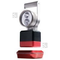 Arbeitsleuchte LED -SH-5.100-, Leuchtenkopf schwenkbar, hohe Lichtausbeute