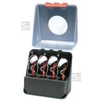 Aufbewahrungsbox für Schutzbrillen -Secu Spezialbox-, versch. Größen, wahlweise befüllt