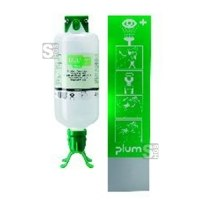 Augenspülstation -PLUM DUO-, inkl. 1000 ml Augenspülflasche, zur Wandmontage