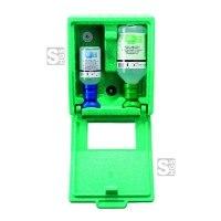 Augenspülstation -PLUM-, inkl. 2 x Augenspülflaschen und Wandbox, zur Wandmontage