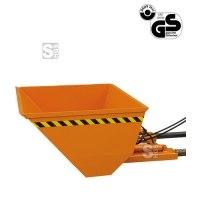 Baggerschaufel -B2064- für Gabelstapler, mit hydraulischer Kippvorrichtung, 500-1500 Liter, verzinkt oder lackiert