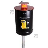 Batteriesammler -State Saint Paul- 10 Liter aus Stahl, vollwandig