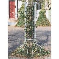 Baumschutzgitter aus Schmiedeeisen, Ø 900 oder 1250 mm, Bodenmontage, wahlweise beschichtet