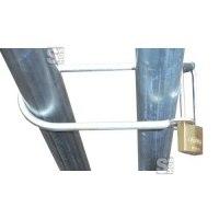 Bauzaunschloss U-Bügel mit Vorhangschloss