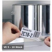 Beschriftungsfenster -Schildfix- o. -Scanfix- zur Kennzeichnung, VE 5-10 Stk., selbstkl., B 200mm