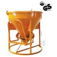 Betonsilo -B1016L(H)-, Auslauf gerade (Schlauchanschluss), Patentverschluss, 150-1000 Liter