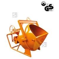 Betonsilo -B1018-, Auslauf gerade (Schlauchanschluss), Patentverschluss, 150-2000 Liter