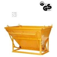 Betonsilo -B1092- zum Gießen von Schalungen, Auslauf gerade / angeschrägt, 150-1000 Liter