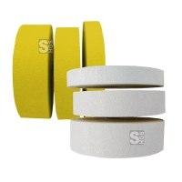 Bodenmarkierungsband -ExtremR- rutschhemmend und retroreflektierend, staplerüberfahrbar, Rolle 50 m - für Innen- u. Außeneinsatz, gelb oder weiß