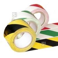 Bodenmarkierungsband -PROline L-, zweifarbig, 50 mm, extra stark