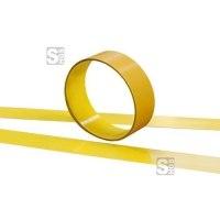 Bodenmarkierungsband -WT-6000- aus Stahl, Breite 100 mm, Länge 1,50 oder 6,00 m, staplerdrehbar