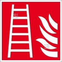 Brandschutzschild, Feuerleiter
