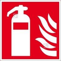 Brandschutzschild, Feuerlöscher