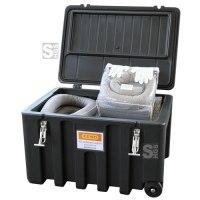 Cemsorb Bindemittel Notfall-Trolley, Universal, Aufnahme 150 Liter, inkl. Schlängel, Tücher und Zubehör