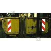 Container Warnmarkierung nach DIN 67520-2, DIN 6171-1 § 32 StVO, 3M-Qualität