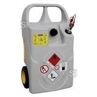 Diesel- und Heizöl-Trolley -CEMO- mit Schnellkupplung, 60 oder 100 Liter aus PE, ADR 1.1.3.1 c