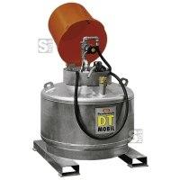 Dieseltankstation -CEMO DT-Mobil- 400, 600 oder 980 Liter, einwandig, wahlweise mit Pumpenhaube oder Pumpenschrank