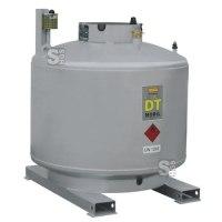 Dieseltankstation -CEMO DT-Mobil- 980 Liter, einwandig, lackiert