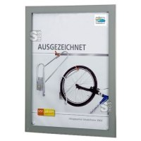 Display-Schaukasten -Modell DG-, Bautiefe 42 mm, Nutzinnentiefe 35 mm, einseitig, zur Wandmontage
